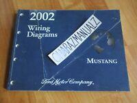 2002 FORD Mustang Wiring Diagrams Manual OEM