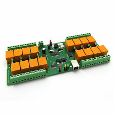 USB 16 Channel Relay Module,Board for Home Automation - 12V