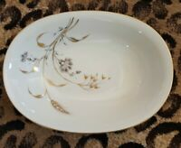 HEINRICH HC GOLDEN HARVEST China OVAL VEGETABLE BOWL White Bavaria Hand Painted