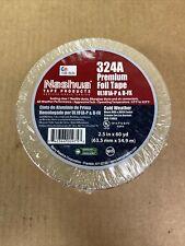 Nashua 324a Premium Adhesives Aluminum Foil Tape 25 In X 60 Yards