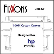 "Ultra Premium Inkjet Cotton Canvas Matte For HP 24"" x 40' Roll (3 Roll Bundle)"