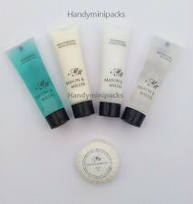 10 x Mason & Miller Hotel / Guesthouse Hospitality Pack - Toiletries Selection