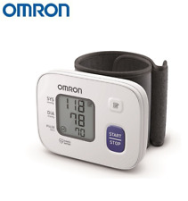 Auto Wrist Blood Pressure Monitor OMRON RS2 Machine Heart Rate Health Care