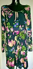 Joules Blue Floral Dress Size 16/18 With Pockets