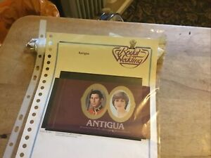 Antigua Unmounted Mint Stamp Booklet With Stamps Charles/di Royal Wedding