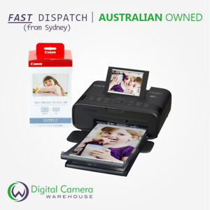 Canon SELPHY CP1300 Black Compact Dye-Sublimation Photo Printer with Paper Pack