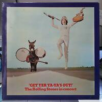 Trés Rare LP Jacques Leblanc collection Get Yer Ya-Ya's Out! The Rolling Stones