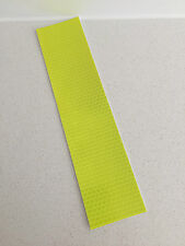 Hi-Vis Yellow Adhesive Reflective Caution Tape Strip 50mm x 200mm