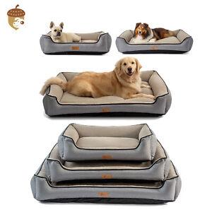 AcornPets® B15 Premium Deluxe Grey M/L Extra Large Dog Cat Bed Pet Pillow Fleece