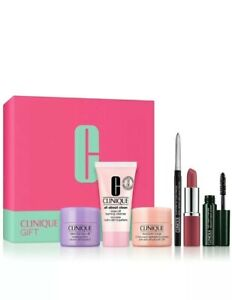 Clinique Holiday Gift Set 6 PC Quickliner Mascara Moisture Surge - Please Read