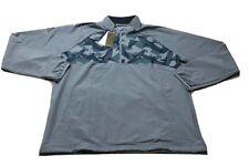 Adidas 1/2 Zip LS Golf Rain Pullover Jacket (L, Blue)(NWT) MSRP $100