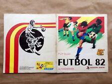 Álbum Fútbol 82  1ª Y 2ª División Edit Panini   Completo