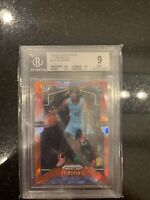 2019-20 Panini Prizm Red Prizms Ice Ja Morant ROOKIE RC BGS 9 MINT