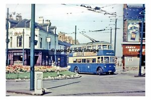 pt8576 - South Shields Trolleybus no 244 at Chichester - Print 6x4