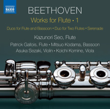 CLASSICAL V.A.-BEETHOVEN: MUSIC FOR FLUTE-JAPAN CD C15