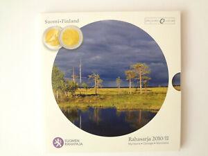 KMS Finnland Rahasarja 2010/II mit 2€ Gedenkmünze 150 Jahre Münzrecht