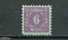 SBZ Mecklenburg 6 Pfg. Ziffer 1945** Michel 10 Plattenfehler XI geprüft (S6780)