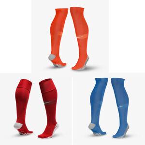 Nike MatchFit DRI-FIT Knee High White Soccer Socks SX6836-102 Over The Calf OTC