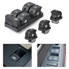 4xMaster Passenger Side Window Switch fit for 2002-2007 2008 Audi A4 B6 B7 Sedan