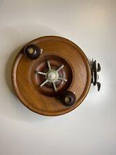 Alvey 700/E3/7 Cedar Vintage Fishing Reel In Good Working Order