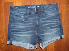 AMERICAN EAGLE Super Super Stretch Hi-Rise Shortie Shorts...size 6