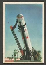 Space Rockets Cards # 46- 1959 P.G.M.17 THOR - First US ballistic missile