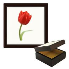 Tulipano Immagine In Legno Gioielleria Scatola Portagioie