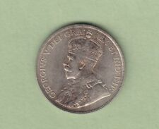 1919 Canadian 50 Cents Silver Coin - VF