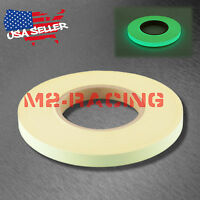 Glow in the Dark Tape Stage Safety Warning Home Decor 1/2 in.x147 ft. Green
