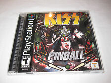 Kiss Pinball (PlayStation PS1) Black Label Complete Excellent!