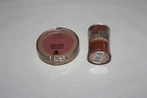 Milani Minerals Powder Blush with Brush #204 + Loose Eye Shadow #03 Lot Of 2 New