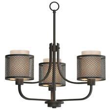 Home Decorators Summit 3-Light Bronze Mesh Chandelier