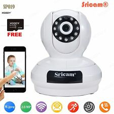 2.0MP HD 1080P PTZ Wifi IP Kamera Wireless Camera IR-Cut Security +32GB SD Card