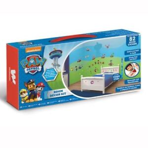 Paw Patrol Room Decor Kit, 82 Wall Stickers - Chase, Marshall, Rubble, Skye