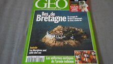 GEO Numéro 185 - 07/1994 - Iles de BRETAGNE - Les KABYLES etc  ... Comme NEUF