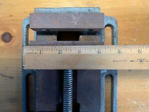 Old 4 Inch Drill Press Vise