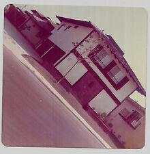 Vintage 70s PHOTO Diagonal Shot Of Apartment House Building