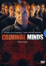 CRIMINAL MINDS - STAGIONE  01  6 DVD  COFANETTO