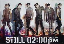 "2 PM ""STILL 02:00 P.M."" ASIAN POSTER -Korean K-pop Band"
