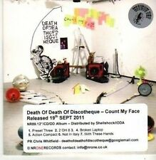 (CB285) Death Of Death Of Discotheque, Count My Face - 2011 DJ CD