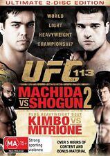 UFC #113 - Machida Vs Shogun 2 (DVD, 2010, 2-Disc Set)
