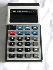 Casio Memory-10 Taschenrechner calculator