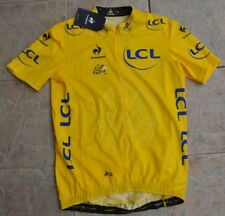 Le Coq Sportif Le Tour France 2014 Cycling Jersey maillot jaune nibali neuf