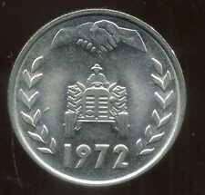 ALGERIE ALGERIA  1 dinar 1972  ( SUP )  ( bis )