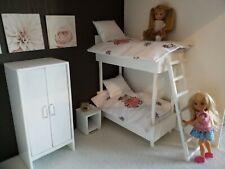 Kelly Tommy bambole per letto a castello Bambola Barbie Set di biancheria da letto per bambini taglia Chelsea