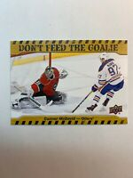 2016-17 Upper Deck Series 1 Achievement Don't Feed The Goalie Connor McDavid SP