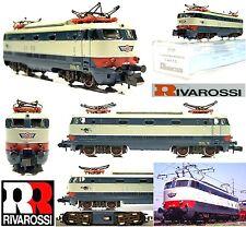 RIVAROSSI 2196 VINTAGE LOCOMOTIVA TARTARUGA  BAFFO ROSSO FS E444-015 BOX SCALA-N