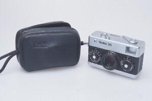Rollei 35 Kamera Camera 1:3.5/40mm Tessar Chrome Edition   / LT011