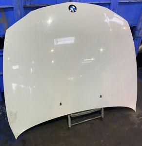 BMW 1 SERIES E81 E87 BONNET IN WHITE NEEDS RESPRAY