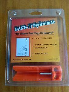 Bang-it door hinge pin remover